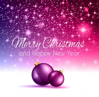 2014 Christmas pink Background