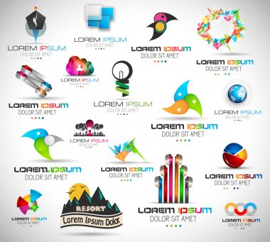 Quality Abstract Design Elements