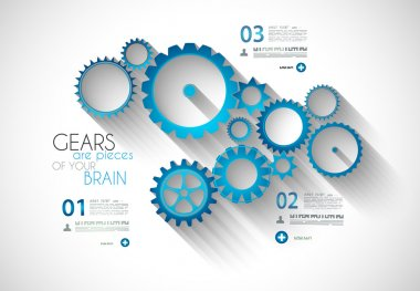 Infographic Modern Style Concept background