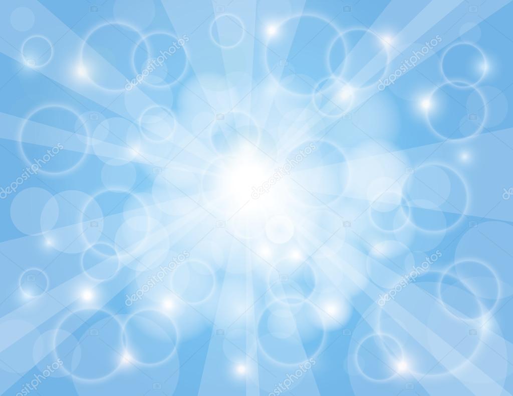 Rayons De Soleil Sur Fond Bleu Ciel Photographie Jpldesigns