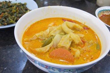 Nonya Sayur Lodeh Vegetable Soup Dish