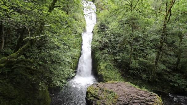 Menyasszonyi fátyol vízesés található, a menyasszonyi fátyol patak a Columbia River Gorge Oregon 1920 x 1080