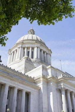 """Картина, постер, плакат, фотообои """"Капитолий штата Вашингтон купол"""", артикул 27757181"""