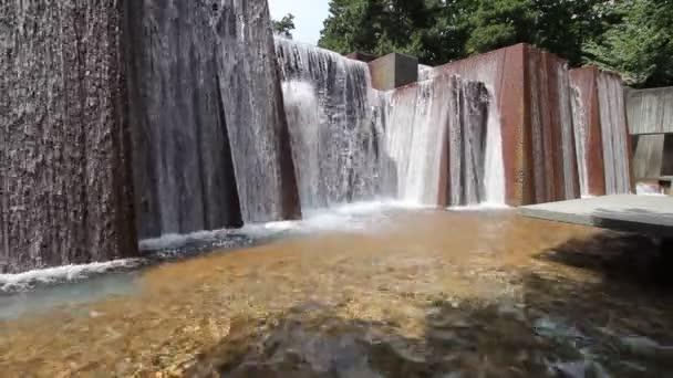 Fuente De Agua De Piedra De Diseno Moderno Parque Publico En El - Diseo-de-fuentes-de-agua
