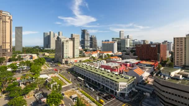 BUGIS, SINGAPORE - MAY 25, 2014: Time lapse movie of busy Bugis area in Singapore. Bugis is a popular area with tourists and locals alike. It is a hotspot for entertainment, food, and shopping.