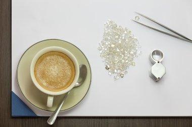Coffee and Diamond