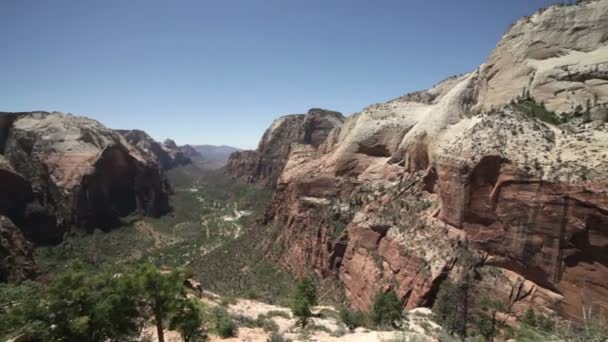 Beautiful view of Zion National Park.