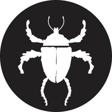 Vector illustration of bug