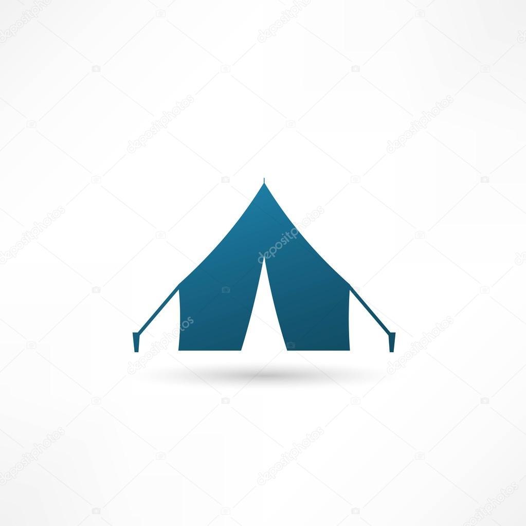 Tent icon, Vector illustration — Stock Vector © slasny1988 ...