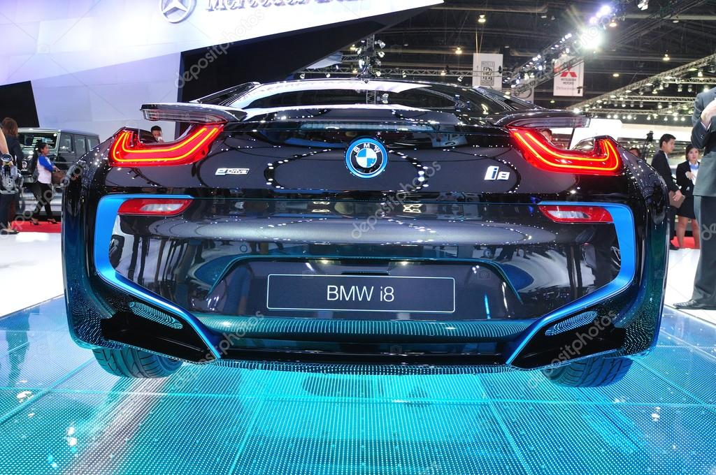 NONTHABURI - MARCH 25: NEW BMW I8  on display at The 35th Bangko