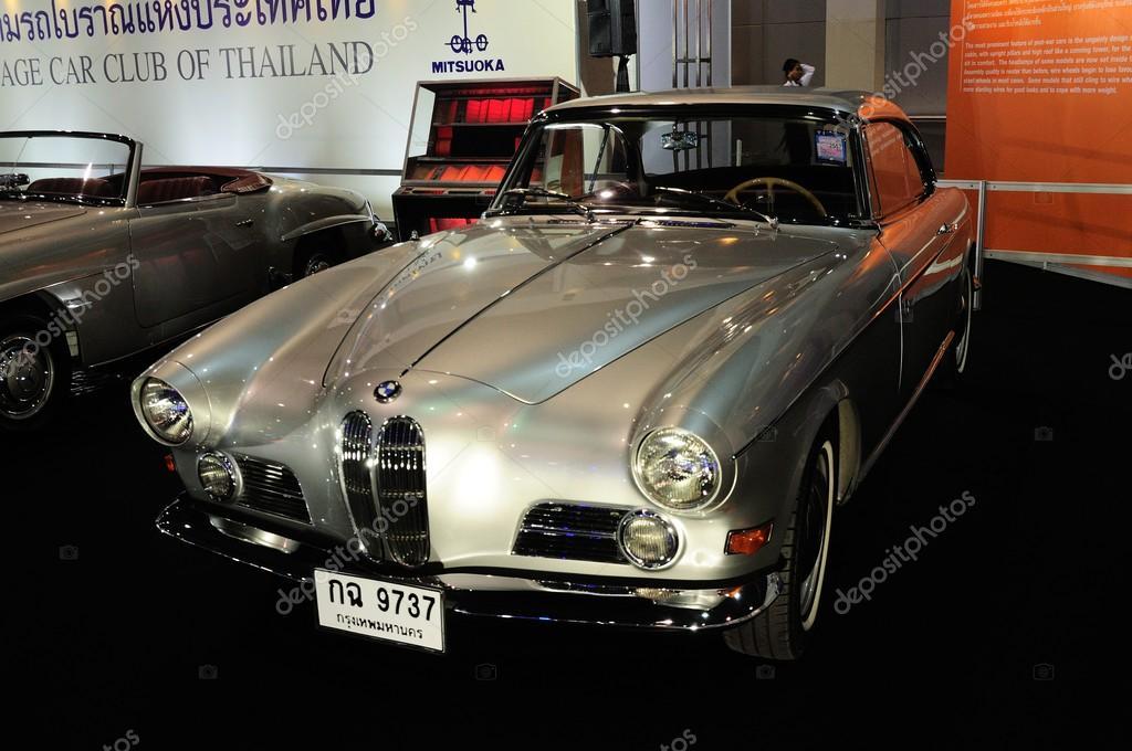 NONTHABURI - NOVEMBER 28:   BMW 503 coupe, Classic 2 door conver
