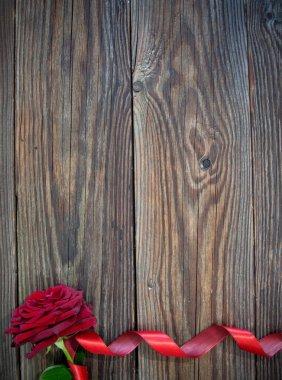 Red rose border