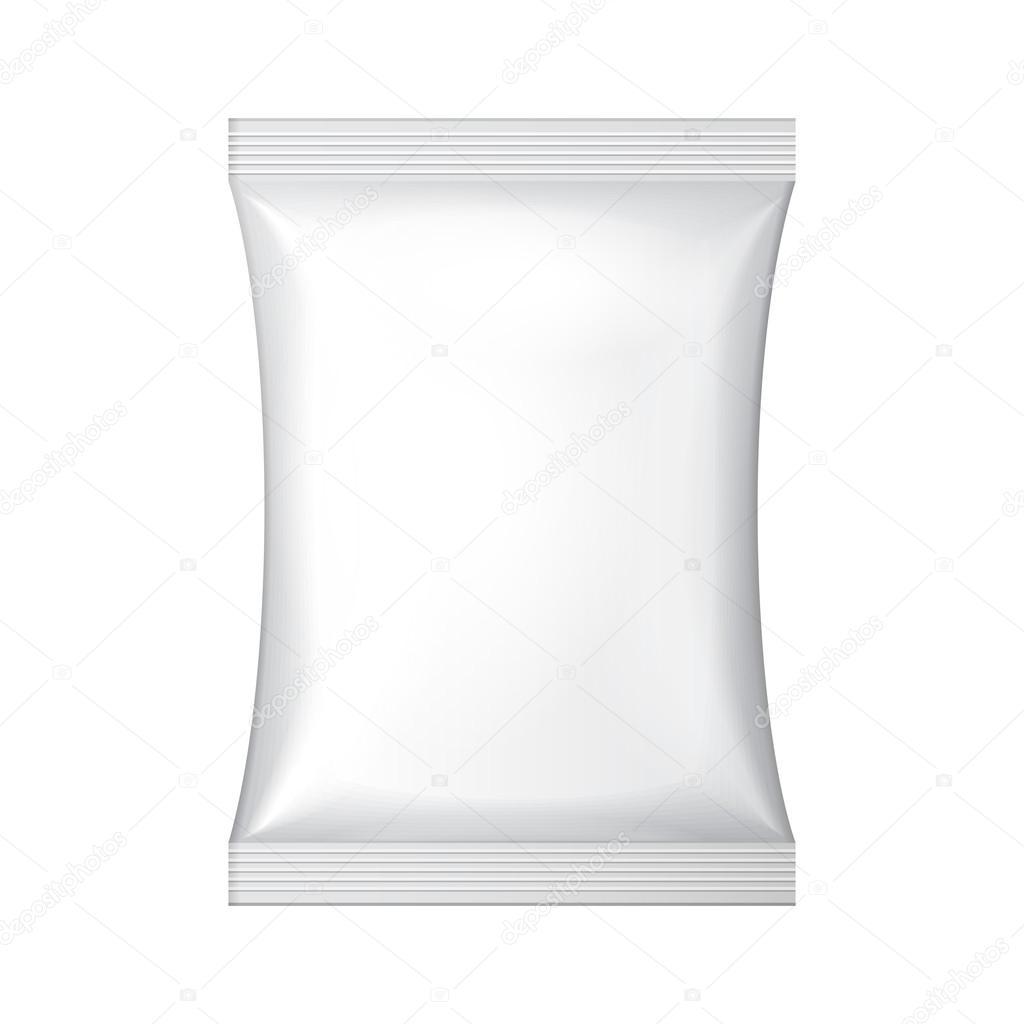 white blank foil food snack sachet bag packaging for coffee salt sugar pepper spices sachet. Black Bedroom Furniture Sets. Home Design Ideas
