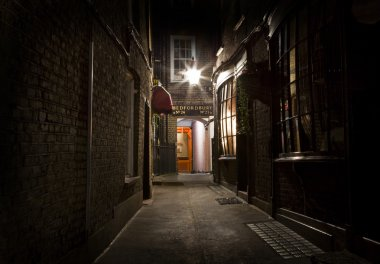Old Fashioned London Alleyway