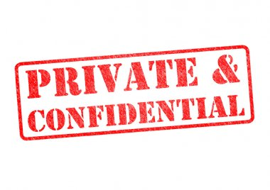PRIVATE &CONFIDENTIAL Stamp