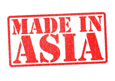 MADE IN ASIA Rubber Stamp