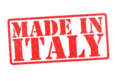 MADE IN ITALY Rubber Stamp