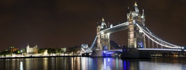 Tower Bridge and the Tower of London Panorama