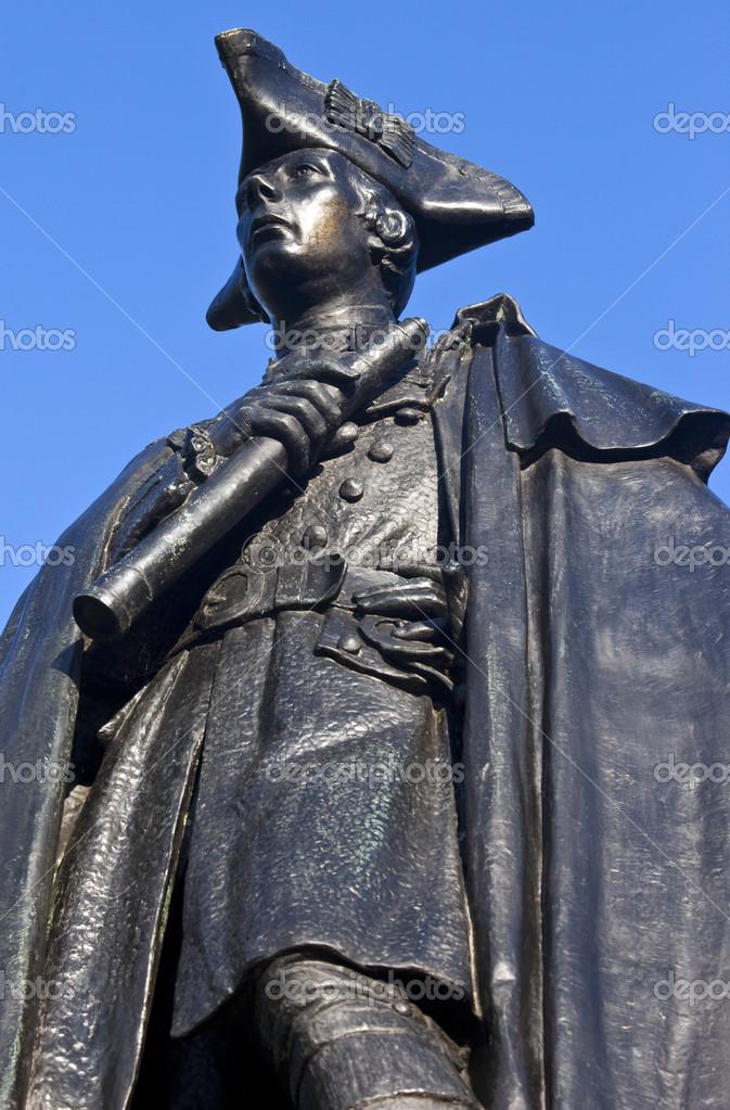 一般的なジェームズ ・ ウルフ像...