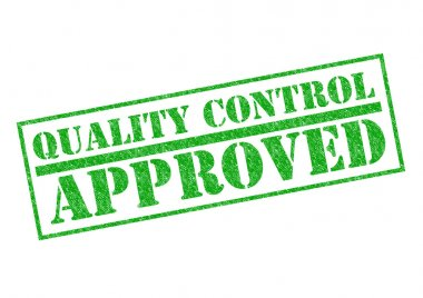 QUALITY CONTROL APPROVED