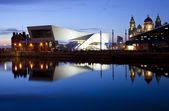 Fotografia Liverpool al crepuscolo