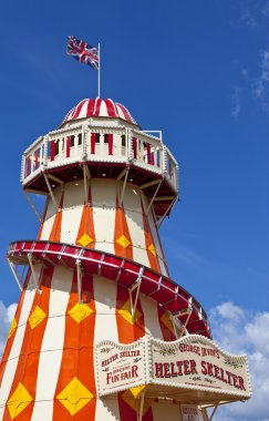 The Helter Skelter in the Queen Elizabeth Olympic Park in London