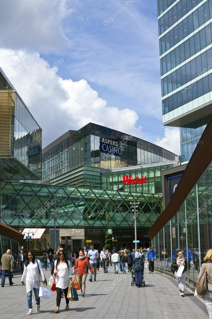 33a74ce82e Westfield Stratford City Shopping Centre in London – Stock Editorial ...