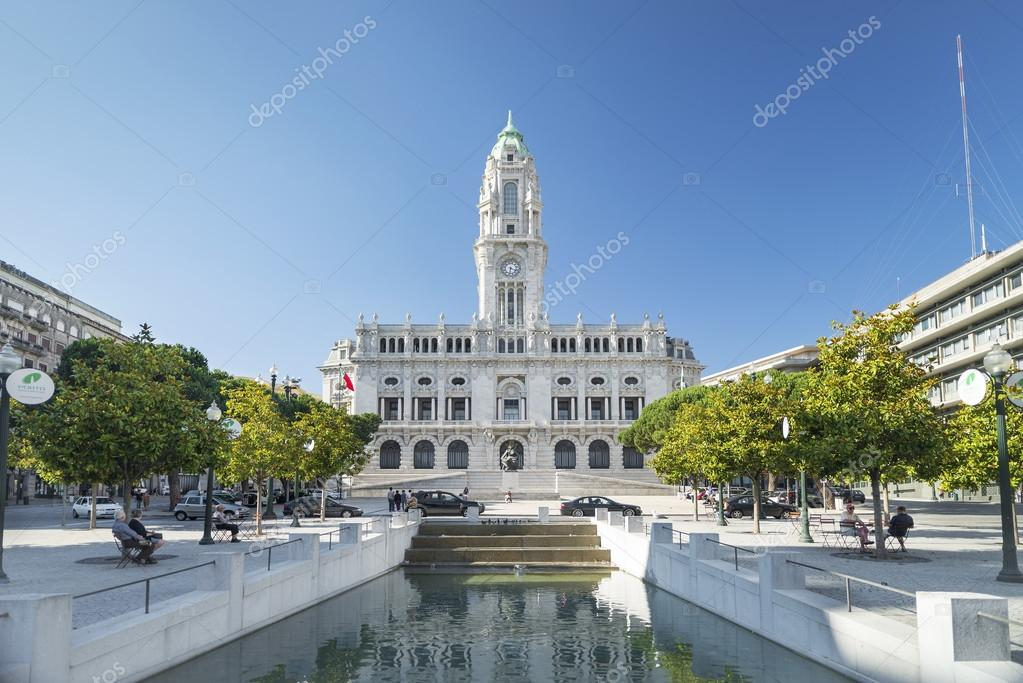 H tel de ville de porto portugal photo ditoriale - Hotel porto portugal avec piscine ...