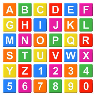 Alphabet Baby Blocks