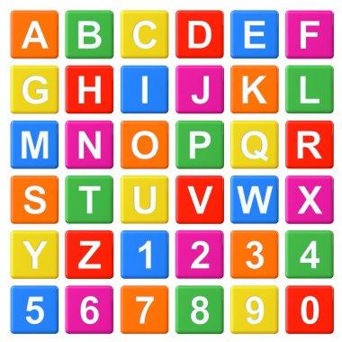 Alphabet Baby Blocks