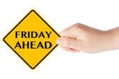 Vorzeichen für Freitag