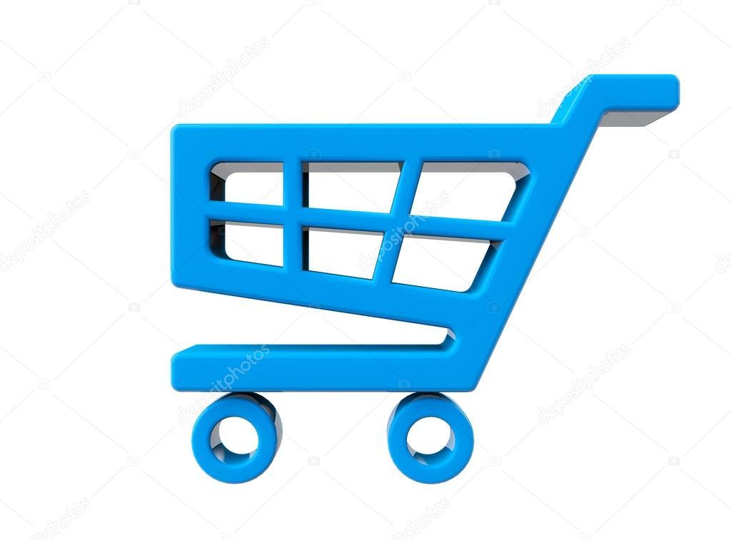 Icono de carrito de compras azul fotos de stock doomu - Carrito dela compra ...