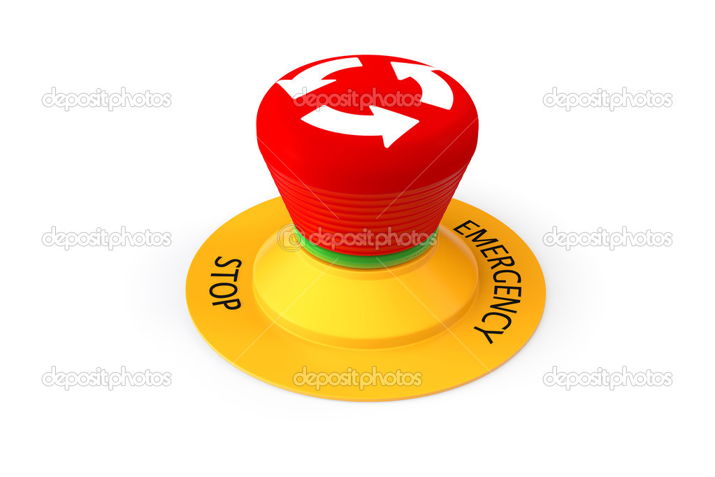 Red Emergency Stop Button Stock Photo Doomu 29104175