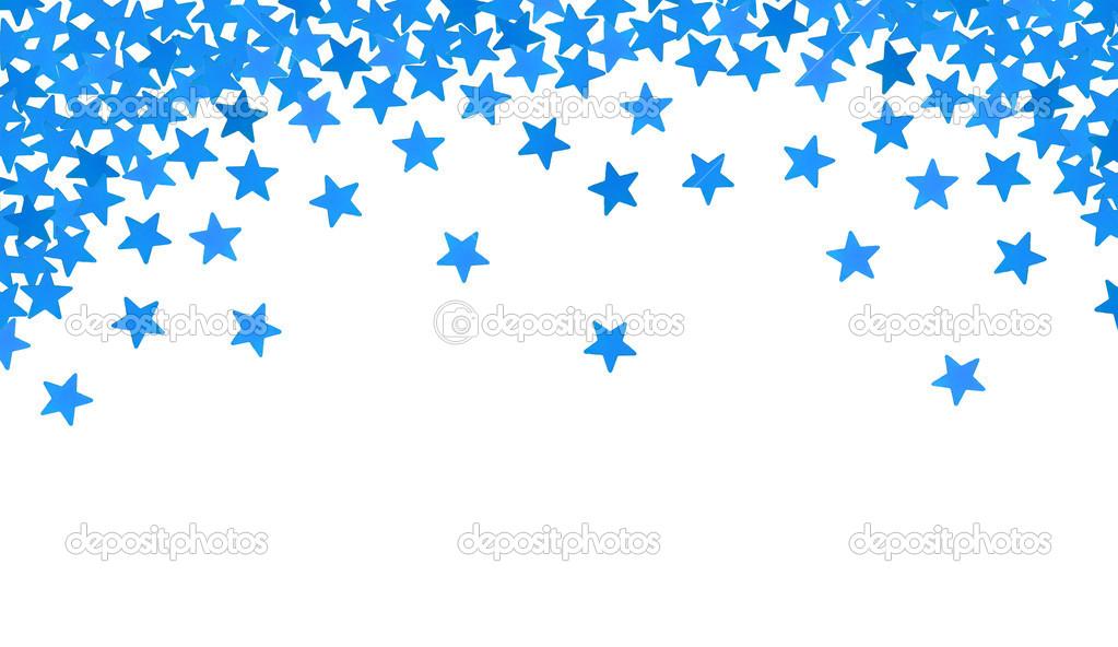 estrellas azules en forma de confeti en blanco foto de vector confetti sketch vector confetti pattern