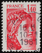 timbro postale francese