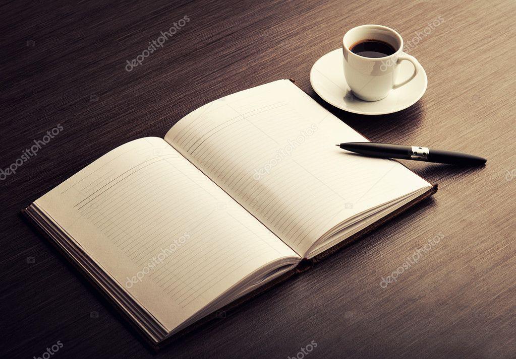кофе на столе фото