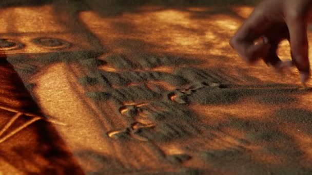písek malba