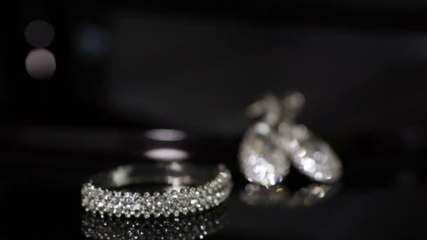Girl takes jewelry