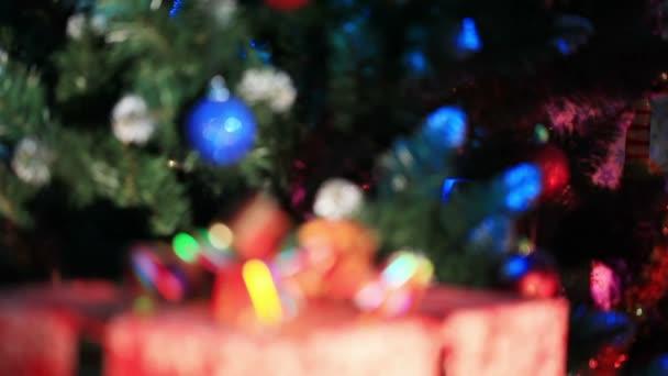 Dekorierter Neujahrsbaum