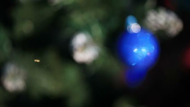 zdobené novoroční strom