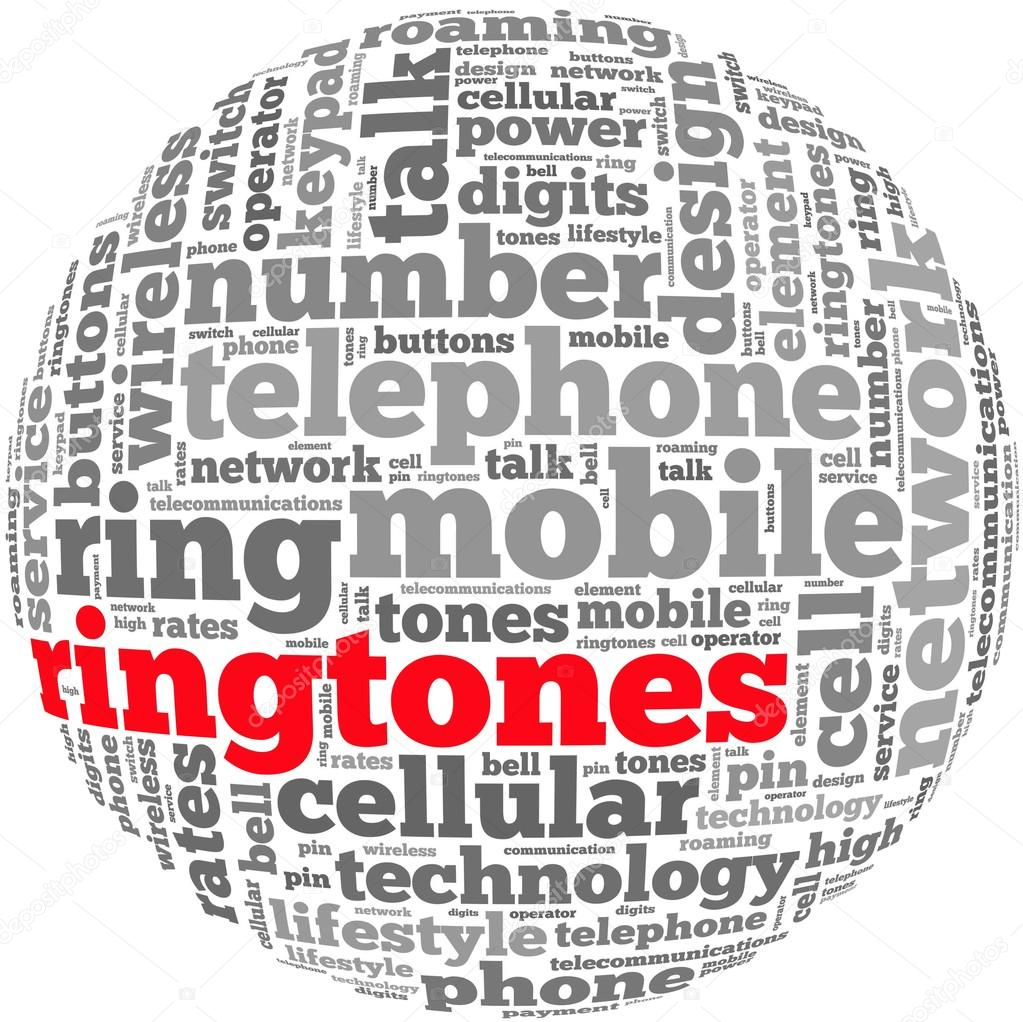 Telephone ring tone concept — Stock Photo © dboystudio #31497283