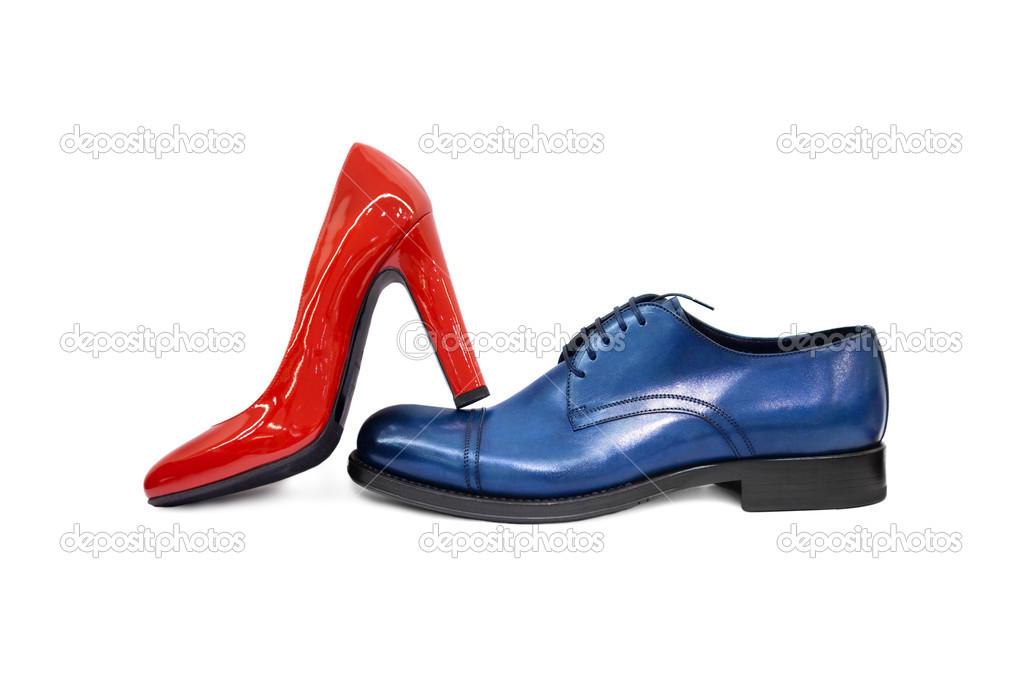 e5a35dfce5 1-sapatos masculino & feminino — Stock Photo © MaleWitch #12704949
