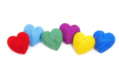 Wool hearts-29