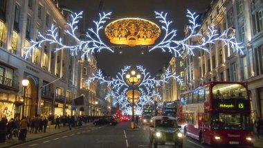 London Christmas decoration 2012