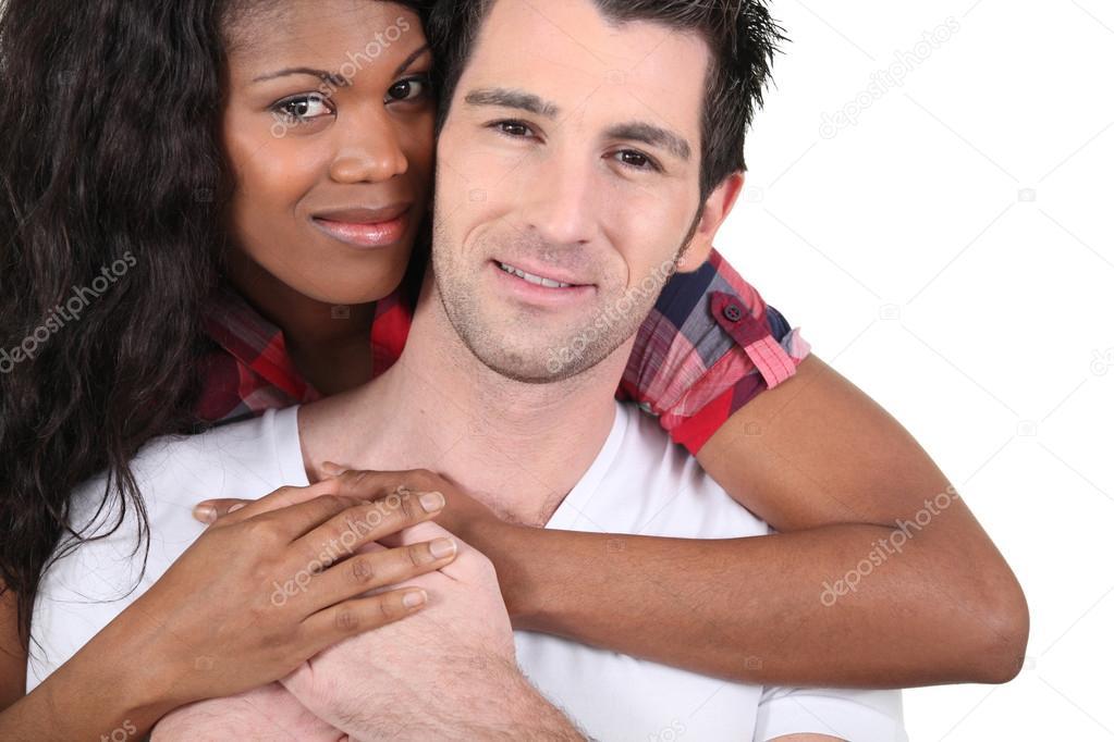 Weißer Mann datiert schwarze Frau Website
