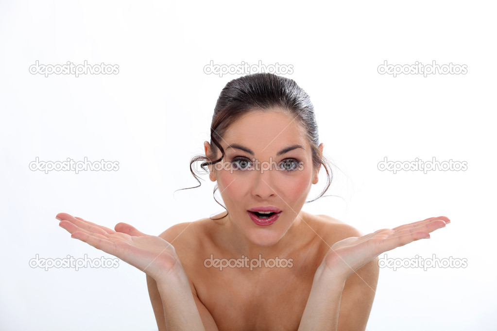 Shy nude interview