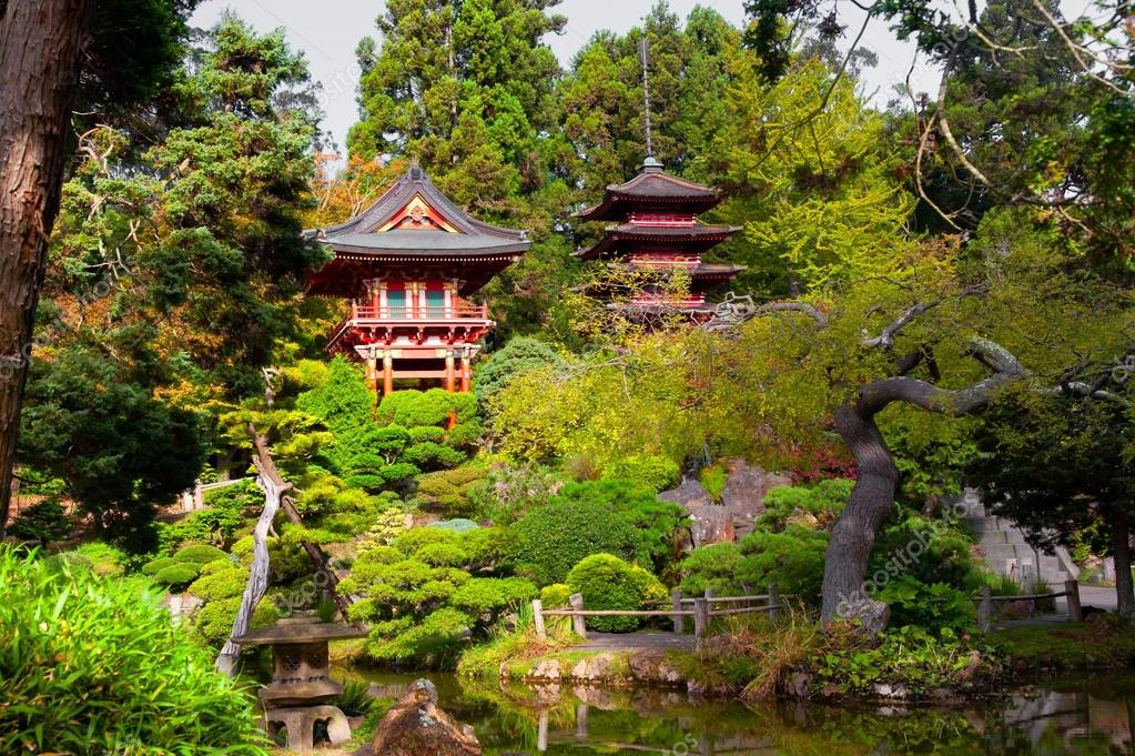 Japanese Tea Garden — Stock Photo © CelsoDiniz #39738293