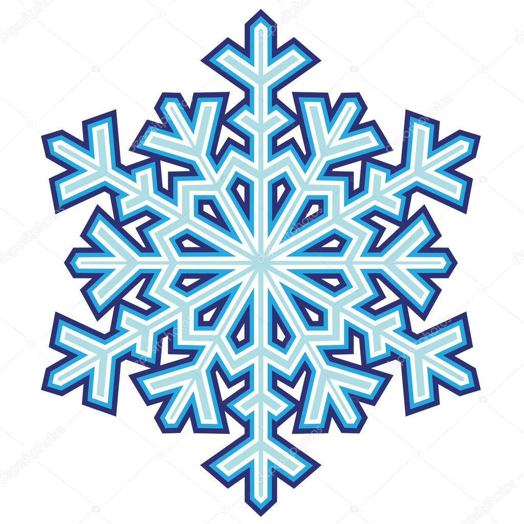 decorative abstract snowflake stock vector gray1311 12532676 rh depositphotos com snowflake vector free snowflake vector image