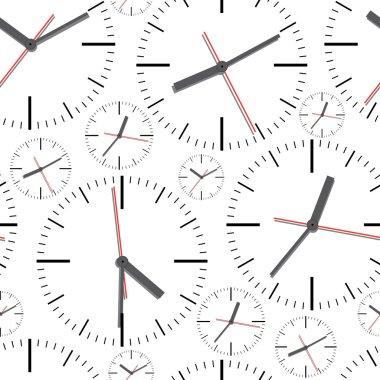 Wall clock. Seamless.