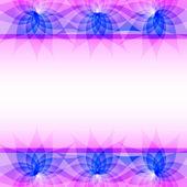 Lila absztrakt vektor háttér, virágok
